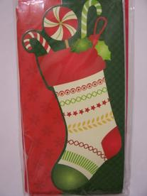 Christmas Layered Blank Money or Gift Card Holder 8 Pack ~