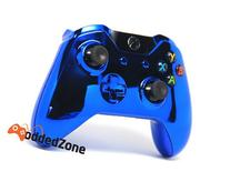 Chrome Blue Xbox One Rapid Fire Modded Controller 40 Mods