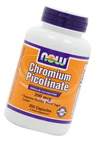 Now Foods Chromium Picolinate 200 mcg - 250 Caps
