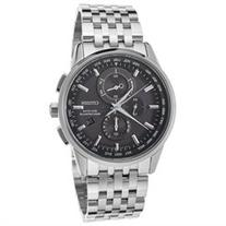 Citizen Men's 43mm Chronograph Silver Steel Bracelet & Case