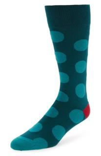 Men's Paul Smith Chunky Polka Dot Socks, Size One Size -