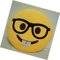 GCA 1 X Ciamlir Soft Emoji Smiley Emoticon Yellow Round