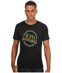 Life is Beautiful - Circle Logo - Crew Neck Tee  T Shirt