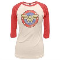 Wonder Woman - Circle Juniors Raglan - S