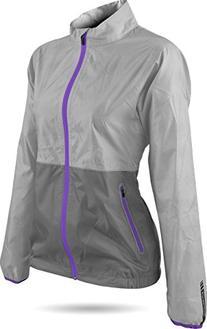 Sun Mountain Cirrus Golf Jacket 2016 Ladies Titanium/Grey/