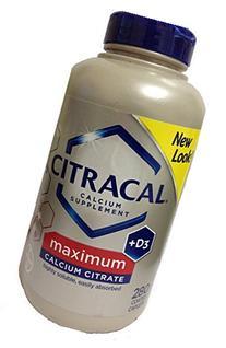 Bayer Citracal Calcium Citrate Plus D3 Maximum Coated