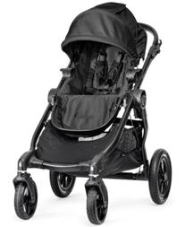 Baby Jogger Baby City Select Single Stroller with Black