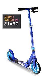 Fuzion Cityglide B200 Adult Kick Scooter w/ Hand brake -