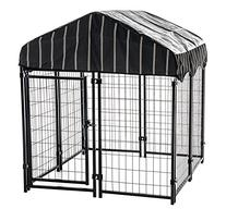 Heavy Duty Dog Cage - Lucky Dog Outdoor Pet Playpen - This