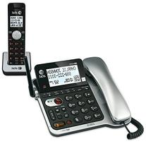AT&T CL84102 DECT 6.0 Expandable Corded/Cordless Phone with