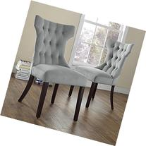 Dorel Living Clairborne Tufted Upholestered Dining Chair,
