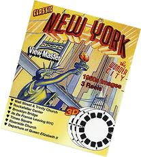 Classic ViewMaster- 1950s NEW YORK Views 3D - 3 Reel Set