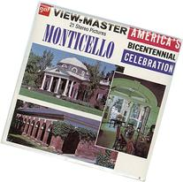 Classic ViewMaster- Monticello, Home of Thomas Jefferson -