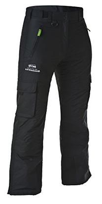 Arctix Men's Classic Cargo Snow Pants, Black, seahawks 2XL