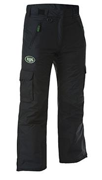 Arctix Mens Classic Cargo Snow Pants, Black, Jets XL