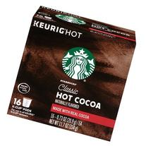 Starbucks Classic Hot Cocoa K-Cups 16 Count