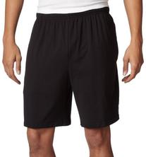 Soffe Men's Classic 100% Cotton Pocket Short Black X-Large