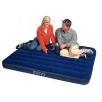 Intex Classic Downy Air Bed, Royal Blue, Full Size 68758E