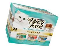 Fancy Feast Classic Gourmet Seafood Feast Variety Pack
