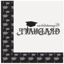 Classic Graduation Party Napkins, 20ct