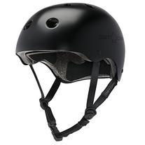 PROTEC Original Classic Helmet CPSC-Certified, Satin Black,