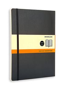 Moleskine Classic Notebook, Extra Large, Ruled, Black, Soft