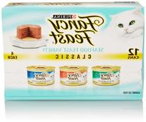 Fancy Feast Classic Seafood Feast Variety Pack 3 flavor (