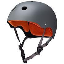 PROTEC Original Classic Skate Helmet, Matte Grey, X-Large
