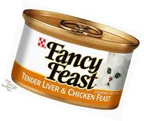 Fancy Feast Classic Tender Liver & Chicken Feast Canned Cat