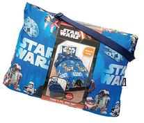 Classic Star Wars 4 Pc Twin Bedding Set with Reversible