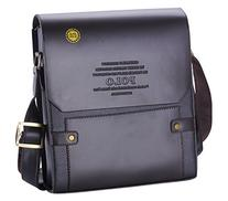 Videng Polo Men's Leather RFID Blocking Secure Briefcase