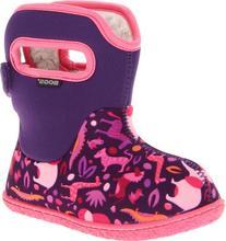 Baby Bogs Classic Zoo Waterproof Winter & Rain Boot ,Pink