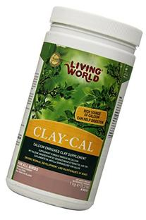 Living World Clay-Cal, 2.2 Lb