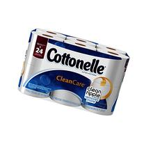 Cottonelle Clean Care Double Roll Toilet Paper With Clean