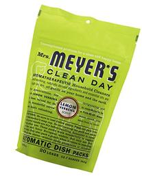 Mrs. Meyer's Clean Day Lemon Verbena Auto Dishwashing Packs