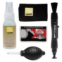 Nikon Cleaning Combo Kit: Nikon Lenspen + Anti-fog Cloth +