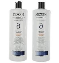 Nioxin System 6 Cleanser & Scalp Therapy Conditioner For