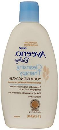 Aveeno Baby Cleansing Therapy Moisturizing Wash, 8 Ounce