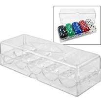 Clear Acrylic Chip Tray & Cover