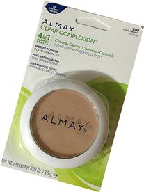 Almay Clear Complexion Pressed Powder, Light/Medium 200, 0.