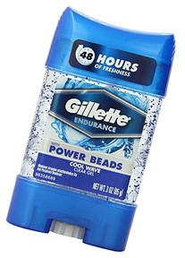 Gillette Clear Gel With Power Beads Cool Wave Anti-