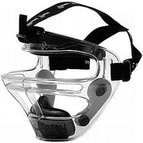 Game Face Large Clear Sports Safety Mask with Black T-