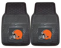 Cleveland Browns Heavy Duty Vinyl Car Mats