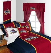 Cleveland Cavaliers 3 Piece Queen Size Comforter Set -  SAVE