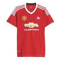 Adidas Mens Climacool Manchester United Home Replica Soccer