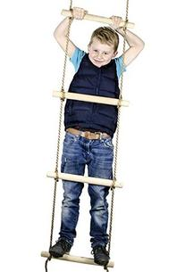 6 ft. Climbing Rope Ladder for Kids - Swing Set Accessories