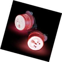 LED Clip On Blinky Light - Red