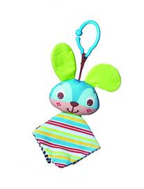 Tiny Love Clip on Toy, Crinkly Bunny