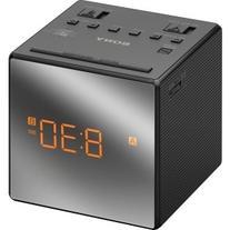 Sony Clock Radio - 0.1 W RMS - Mono - 2 x Alarm - AM, FM -