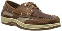 Sebago Men's Clovehitch II Dark Taupe/Dark Brown Leather